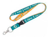 DETACHABLE LANYARD in MIAMI DOLPHINS Found in: NFL > MIAMI DOLPHINS > Souvenirs > Keychains