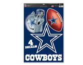 MULTI USE DECAL in DALLAS COWBOYS Found in: NFL > DALLAS COWBOYS > Souvenirs > Stickers