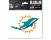 MULTI USE DECAL in MIAMI DOLPHINS Found in: NFL > MIAMI DOLPHINS > Souvenirs > Stickers