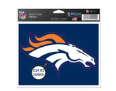 MULTI USE DECAL in DENVER BRONCOS Found in: NFL > DENVER BRONCOS > Souvenirs > Stickers