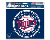 MULTI USE DECAL in MINNESOTA TWINS Found in: MLB > Minnesota Twins > Souvenirs > Stickers