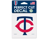 "COLOR DIE CUT DECAL - 4""X4"" in MINNESOTA TWINS Found in: MLB > Minnesota Twins > Souvenirs > Stickers"