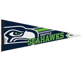 LOGO PENNANT in SEATTLE SEAHAWKS Found in: NFL > Seattle Seahawks > Souvenirs > Pennants