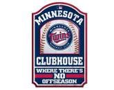 WOODEN SIGN in MINNESOTA TWINS Found in: MLB > Minnesota Twins > Souvenirs > Signs