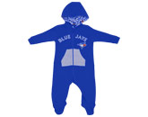 INFANT HOODED JUMPSUIT in TORONTO BLUE JAYS Found in: MLB > Toronto Blue Jays > Clothing > Fleece