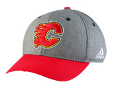 TWO TONE STR. CAP in CALGARY FLAMES Found in: NHL > CALGARY FLAMES > Clothing > Hats