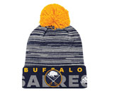 CUFFED KNIT W/POM in BUFFALO SABRES Found in: NHL > BUFFALO SABRES > Clothing > Hats