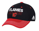 LOCKER ROOM STR CAP in CALGARY FLAMES Found in: NHL > CALGARY FLAMES > Clothing > Hats