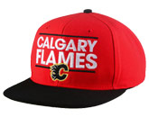 DASSLER FLATBRIM CAP in CALGARY FLAMES Found in: NHL > CALGARY FLAMES > Clothing > Hats