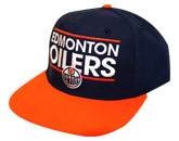 DASSLER FLATBRIM CAP in EDMONTON OILERS Found in: NHL > EDMONTON OILERS > Clothing > Hats