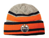 HEATHERED GREY BEANIE in EDMONTON OILERS Found in: NHL > EDMONTON OILERS > Clothing > Hats