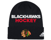 LOCKER ROOM BEANIE in CHICAGO BLACKHAWKS Found in: NHL > CHICAGO BLACKHAWKS > Clothing > Hats