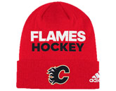 LOCKER ROOM BEANIE in CALGARY FLAMES Found in: NHL > CALGARY FLAMES > Clothing > Hats