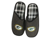 MENS SLIPPERS in GREEN BAY PACKERS Found in: NFL > GREEN BAY PACKERS > Clothing > Footwear