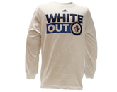 NHL > Winnipeg Jets > Clothing > JETS WHITE OUT L/S SHIRT