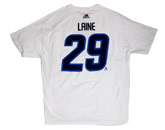 NHL > Winnipeg Jets > Clothing > LAINE N&N WHITE OUT TEE