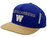 PLYR SNAP GOLD BRIM HA in WINNIPEG BLUE BOMBERS Found in: CFL > Winnipeg Blue Bombers > Clothing > Hats
