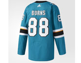 BURNS ADIZERO JERSEY in SAN JOSE SHARKS Found in: NHL > SAN JOSE SHARKS > Jerseys > Customizng