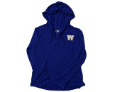 LDS SLUB HOODIE ZIP in WINNIPEG BLUE BOMBERS Found in: CFL > Winnipeg Blue Bombers > Clothing > Fleece