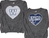 GIRLS BRUSHED SWEATER in WINNIPEG BLUE BOMBERS Found in: CFL > Winnipeg Blue Bombers > Clothing > Fleece