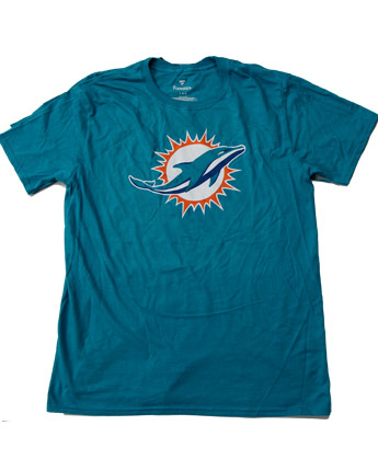 PRIMARY LOGO TEE in MIAMI DOLPHINS Found in: NFL > MIAMI DOLPHINS > Clothing > T-Shirts