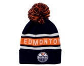 CULTURE CUFFED POM in EDMONTON OILERS Found in: NHL > EDMONTON OILERS > Clothing > Hats
