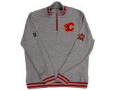 HERITAGE 1/4 ZIP FLEECE in CALGARY FLAMES Found in: NHL > CALGARY FLAMES > Clothing > Fleece