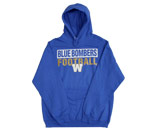 RETRO OPEB BAR HOODY in WINNIPEG BLUE BOMBERS Found in: CFL > Winnipeg Blue Bombers > Clothing > Fleece