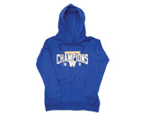 LDS CHAMPS HOODED FLC in WINNIPEG BLUE BOMBERS Found in: CFL > Winnipeg Blue Bombers > Clothing > Fleece