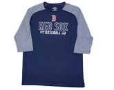 3/4 SLEEVE OUTLINE in BOSTON RED SOX Found in: MLB > Boston Red Sox > Clothing > Shirts