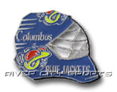 GOAL MASK PIN in COLUMBUS BLUE JACKETS Found in: NHL > COLUMBUS BLUE JACKETS > Souvenirs > Pins