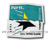1995 SAN JOSE ALL STAR PATCH in ALL STAR Found in: NHL > ALL STAR > Jerseys > Patches
