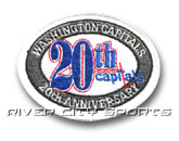 20TH PATCH in WASHINGTON CAPITALS Found in: NHL > WASHINGTON CAPITALS > Jerseys > Patches