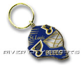 GOALIE MASK KEYCHAIN in ST. LOUIS BLUES Found in: NHL > ST. LOUIS BLUES > Souvenirs > Keychains