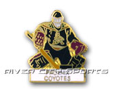 GOALIE PIN in PHOENIX COYOTES Found in: NHL > PHOENIX COYOTES > Souvenirs > Pins