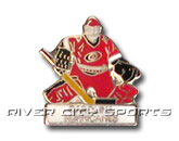 GOALIE PIN in CAROLINA HURRICANES Found in: NHL > Carolina Hurricanes > Souvenirs > Pins