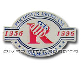40TH ANNIVERSARY PIN in ROCHESTER AMERICANS Found in: AHL > ROCHESTER AMERICANS > Souvenirs > Pins