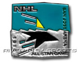 1995 ALL STAR GAME - SAN JOSE PIN in ALL STAR Found in: NHL > ALL STAR > Souvenirs > Pins
