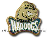 LOGO PIN in MEMPHIS MAD DOGS Found in: CFL > Memphis Mad Dogs > Souvenirs > Pins