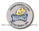 INAGURAL PIN in MEMPHIS MAD DOGS Found in: CFL > Memphis Mad Dogs > Souvenirs > Pins