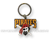 MLB LOGO KEYCHAIN in PITTSBURGH PIRATES Found in: MLB > Pittsburgh Pirates > Souvenirs > Pins