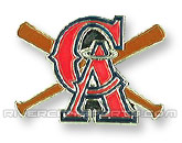 X-BAT PIN in LOS ANGELES ANGELS Found in: MLB > Los Angeles Angels > Souvenirs > Pins