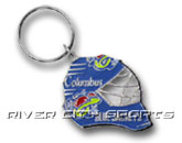 GOALIE MASK KEYCHAIN in COLUMBUS BLUE JACKETS Found in: NHL > COLUMBUS BLUE JACKETS > Souvenirs > Keychains