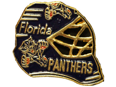 BLUE GOLMSK in FLORIDA PANTHERS Found in: NHL > FLORIDA PANTHERS > Souvenirs > Pins