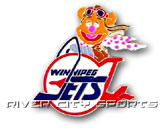 MUPPET PIN in WINNIPEG JETS Found in: NHL VINTAGE > Winnipeg Jets > Souvenirs > Pins