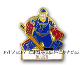 GOALIE PIN in ST. LOUIS BLUES Found in: NHL > ST. LOUIS BLUES > Souvenirs > Pins
