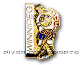 LITTLE PLAYER PIN in WINNIPEG JETS Found in: NHL VINTAGE > Winnipeg Jets > Souvenirs > Pins