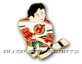 MINI PLAYER PIN [OLD STYLE LOGO] in NEW JERSEY DEVILS Found in: NHL > NEW JERSEY DEVILS > Souvenirs > Pins