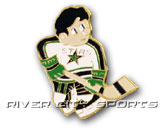 MINI PLAYER PIN in MINNESOTA NORTH STARS Found in: NHL VINTAGE > MINNESOTA NORTH STARS > Souvenirs > Pins