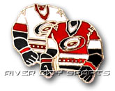 DOUBLE SWEATER PIN in CAROLINA HURRICANES Found in: NHL > Carolina Hurricanes > Souvenirs > Pins